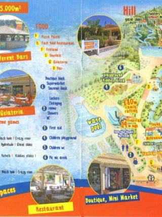 Aqualand Corfu Map