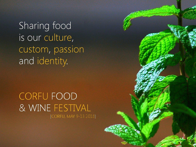 poster Corfu Food & Wine Festival