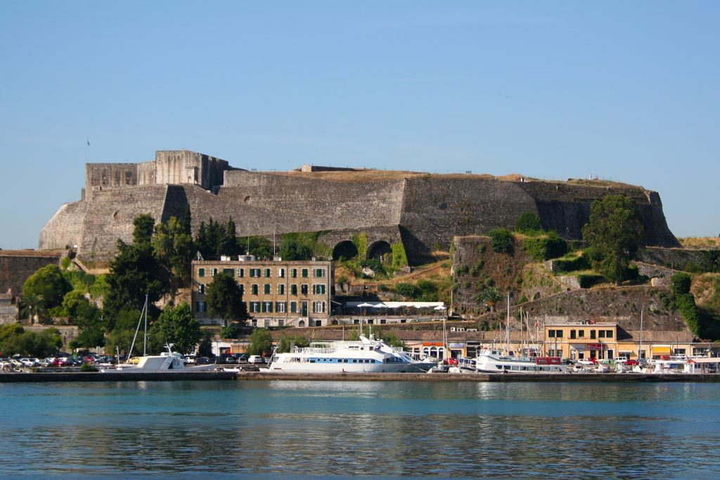 new fortress corfu fortresses
