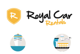 Royal Car Rental, Corfu Port Terminal