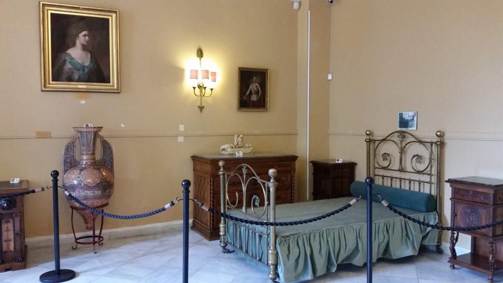 achilleion bedroom Achilleion Palace