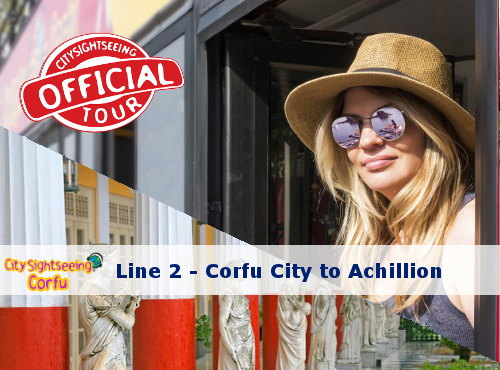 corfu sightseeing bus achillion