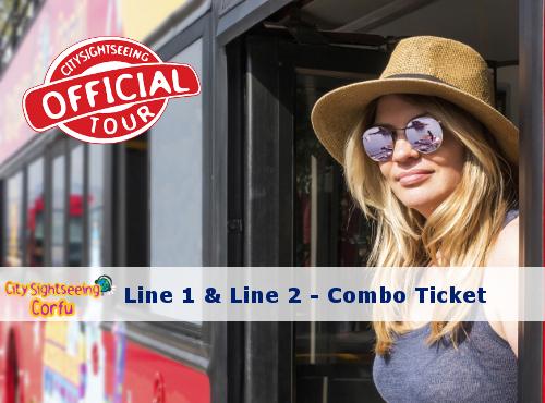 corfu sightseeing bus combo ticket